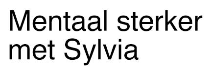 Mentaal Sterker met Sylvia
